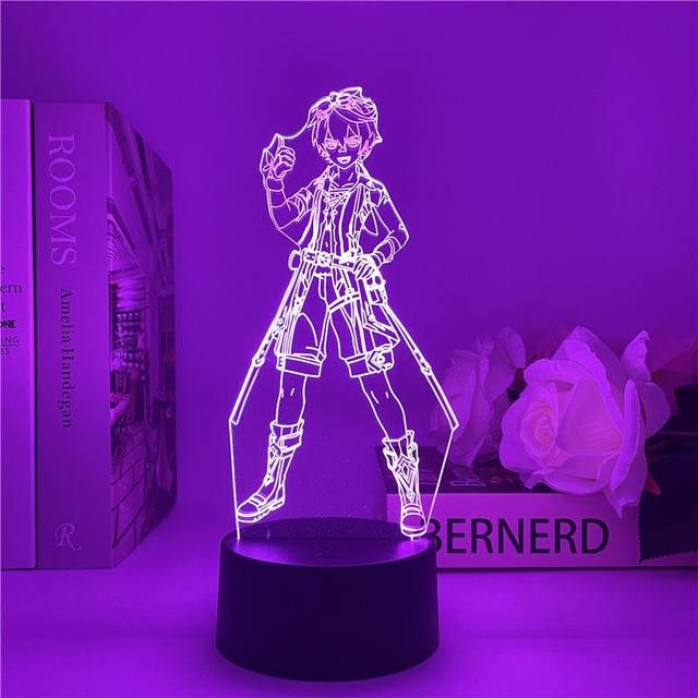 BENNETT GENSHIN IMPACT 3D LED LIGHT