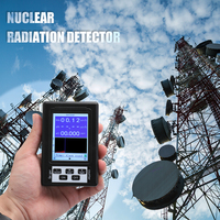 BR 9B Upgrade Geiger Counter Nuclear Radiation Dosimeter Detector Personal Field Dosimeter Marble Tester X ray Display Screen