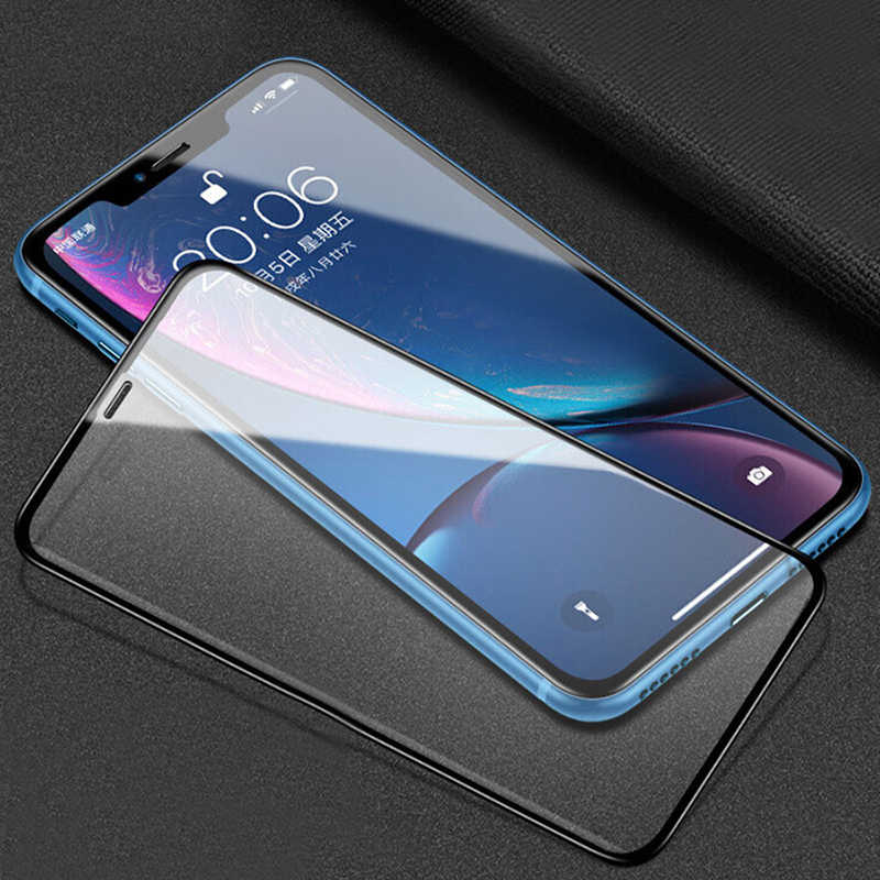 Easy to Install Super Clear and dura 50 PCS Non-Full Matte Frosted Tempered Glass Film for Huawei P20 Lite No Retail Package yf