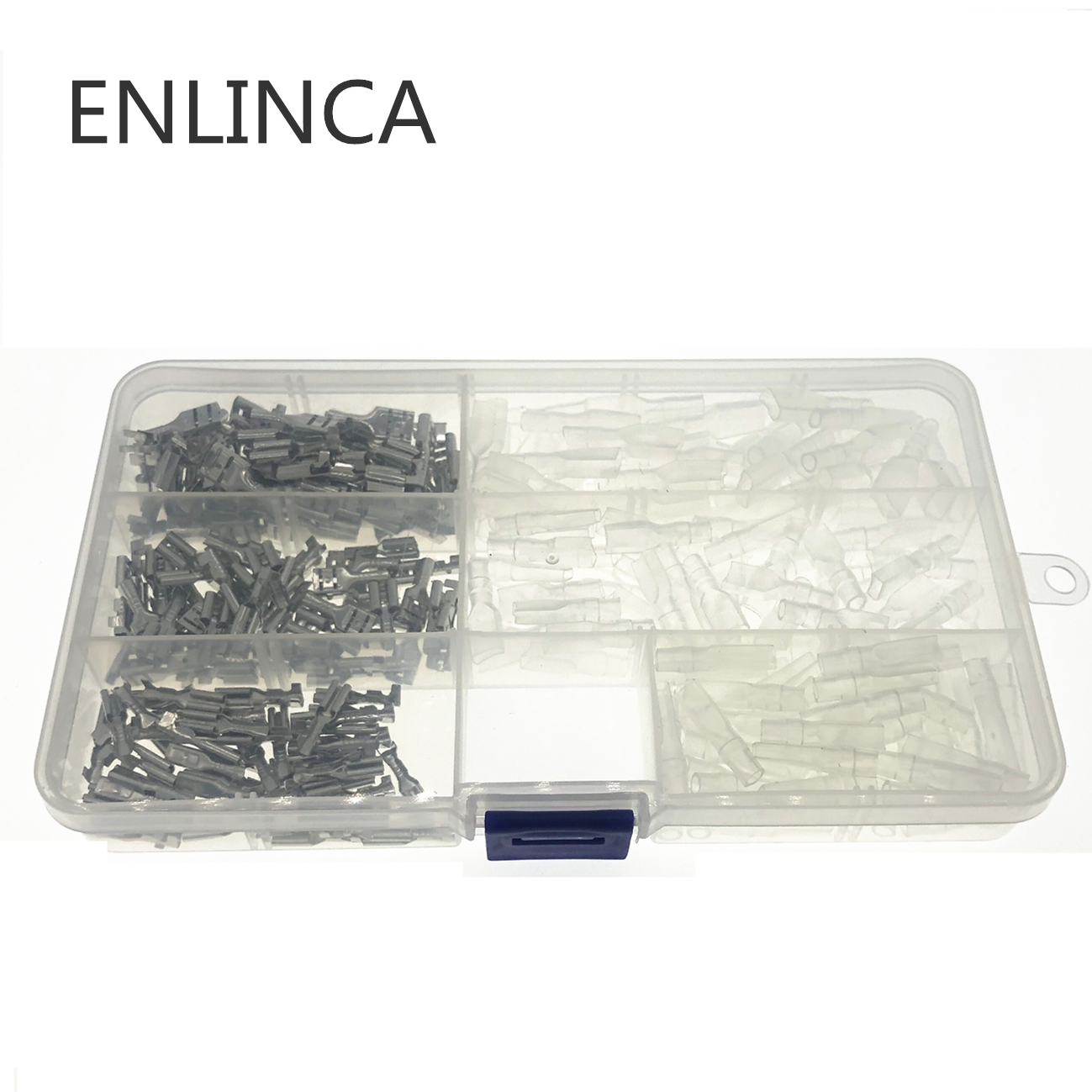 300pcs 2.8/4.8/6.3mm Crimp Terminals Insulated Seal Electrical Wire Connectors Crimp Terminal Connector Assortment Kit