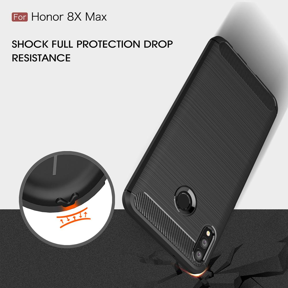 Carbon Fiber <font><b>Phone</b></font> <font><b>Case</b></font> <font><b>For</b></font> <font><b>Huawei</b></font> <font><b>Honor</b></font> Nova 2i 3 3i 3E 4 4E 5 5i 5T <font><b>6</b></font> 6SE 7i 5Z 5i P20 Pro Lite 2019 Shockproof <font><b>Cover</b></font> <font><b>Case</b></font> image