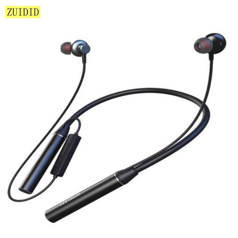 GYM530 Bluetooth 5,0 шеи для Шум снижение спортивные наушники-вкладыши стерео наушники Магнитная гарнитура TF карты