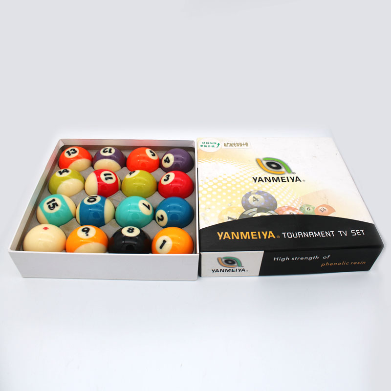 High quality boxed 57mm billiards 16/full set