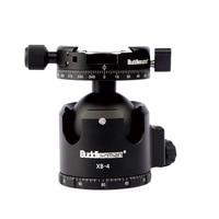 Buddiesman XB Series Superior Low Profile Ball Head 52mm With Panning Clamp Panoramic Head 360 Degree Tripod Head