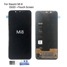 OLED LCD For Xiaomi Mi 8 Screen LCD Display Touch Screen Digitizer Repair Parts For Mi8 Screen LCD Display Replacement