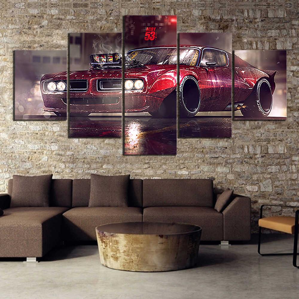 ракета, постеры на стену автомобили это рука