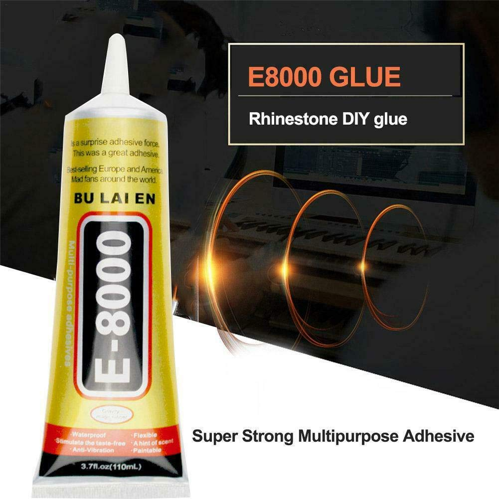 E8000 50ml Liquid Glue Super Strong Multipurpose Adhesive Jewelry Crafts Crystal Rhinestone DIY Fix Phone Screen Glass Nail Gel