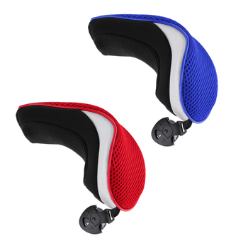 цена на 2pcs Golf Hybrid UT Club Rescue Head Cover Headcover Utility Golf Club Head Cover Golf Club Headcover Golf Accessories