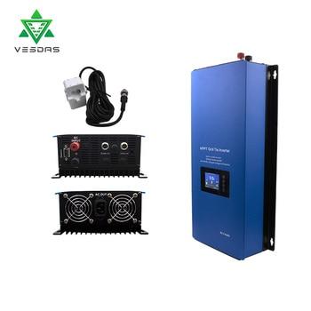 2000W Battery Discharge Power Mode/MPPT Solar Grid Tie Inverter with Limiter Sensor DC 45-90V AC 220V 230V 240V PV connected 2