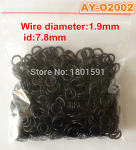 Free shipping 100pieces wholesale 7.8*1.9mm rubber orings fuel injector seals for toyota ASNU17 (AY-O2002)