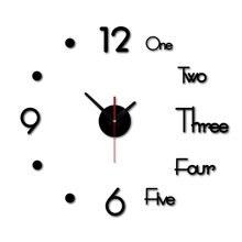 Современные стильные и современные часы с бескаркасным дизайном