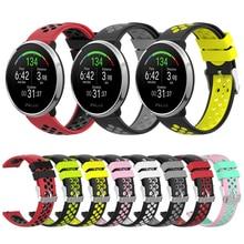 סיליקון רצועת עבור קוטב להצית חכם להקת שעון רצועת השעון עבור קוטב Vantage M החלפת צמיד Wristbands