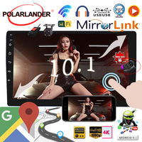 Android 8.1 1G 16G 10.1 inch Android WIFI Bluetooth MP5 Player GPS NAVIGATION 8.1 universal Car Radio 2 din