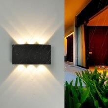 Светодиодный настенный светильник из алюминиевого сплава уличная