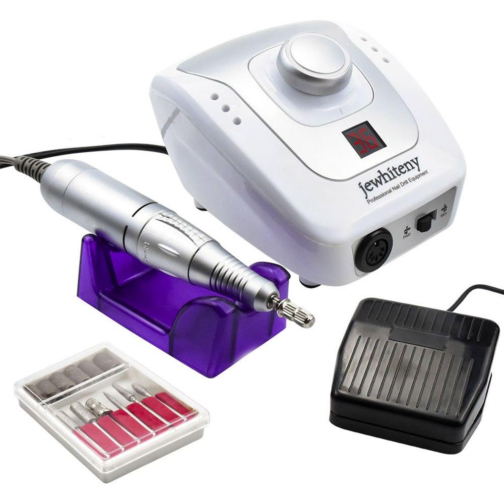 Электрический аппарат для маникюра и педикюра, 32 Вт, 35000 об/мин|Электрические маникюрные дрели|   | АлиЭкспресс