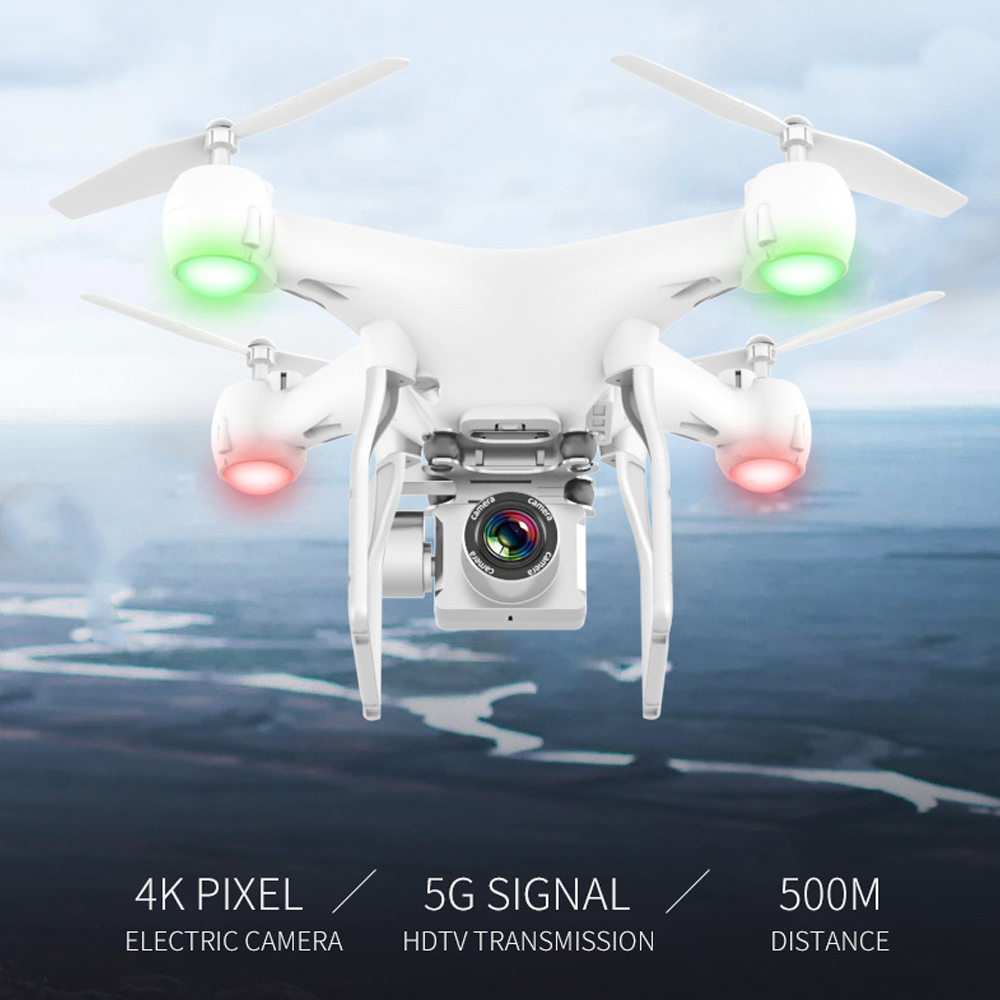 Drone HD 4k WiFi 1080p fpv drone flight 20 minutes control distance 150m quadcopter drone with camera 2