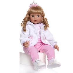 NPK Model Long Hair Cute GIRL'S New Style Reborn Toddler Retro Hair Style
