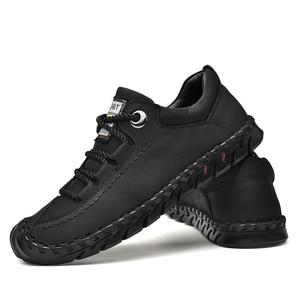 Image 3 - מותג קיץ גברים של נעליים יומיומיות רך בעבודת יד מוקסינים גברים נעלי יוקרה מותג אביב אופנה גבר נעלי סירת נעלי מכירה לוהטת