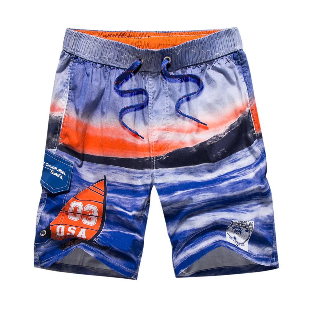 Shorts de Surf Calções de Banho para Homens Bermuda Shorts Masculino Secagem Rápida Verão Impressão Praia Board Siwmwear Bermudas Boxers