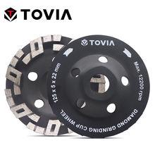 Шлифовальный круг tovia 125 мм Алмазные полировальные каменные