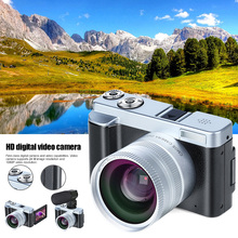 лучшая цена Digital Camera Video Camera Recorder HD 1080P WIFI 3 Inch Screen Wide Angle Lens LHB99