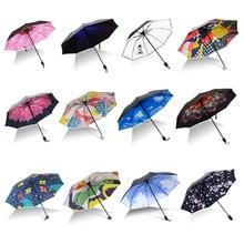 Sunny-Umbrellas Beach-Parasol Foldable Rain Woman Windproof And for Female UV