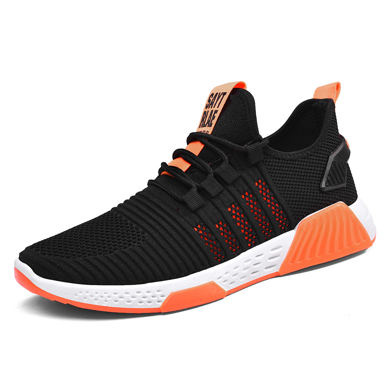 2020 Men Shoes Breathable Men Sneakers Zapatillas Hombre Sport Shoes High Quality Men Casual Shoes Non-Slip Man Flat Footwear