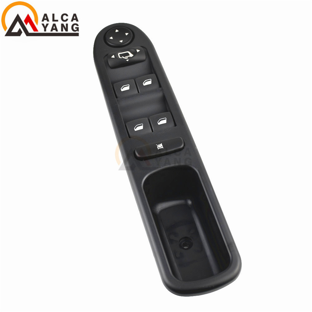 New Left Front Automobile Electric Door Switch Window Control Glass-frame Riser 6554.KT For Peugeot 307 307CC 307SW 2000-2007