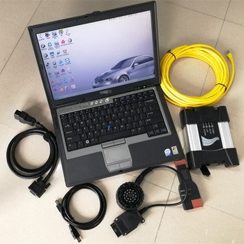 Best for bmw diagnose for bmw icom next a b c with software isis hdd 500gb with laptop d630 4g windows 7 ready to use