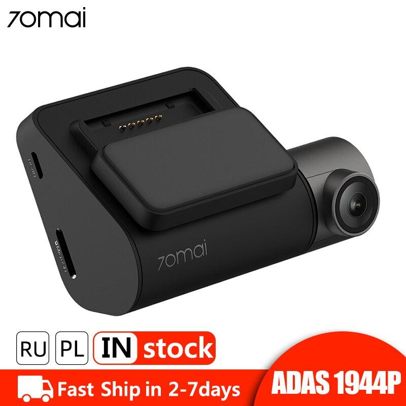70mai Dash Cam Pro 1944P HD GPS ADAS voiture DVR Wifi caméra de bord commande vocale 24H moniteur de stationnement enregistreur vidéo de Vision nocturne
