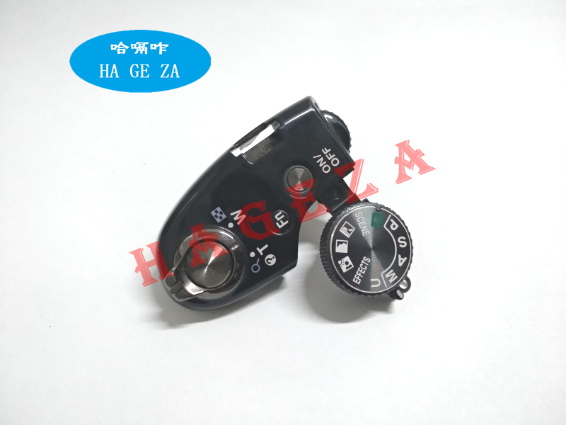 95%New Function Dial Model Shutter Button For Nikon Coolpix P520 Top Switch Cover Digital Camera Repair Part Black