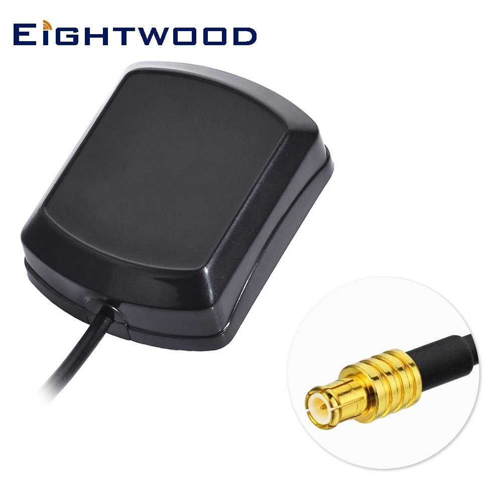 mamagnet GPS Active Antenna SMB female jack straight 1575.42MHz 3-5V RG174 cable