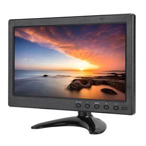 10,1 дюймовый портативный монитор 169 HD Широкоформатный дисплей с поддержкой видеовхода HDMI/VGA/BNC/AV для Raspberry Pi/Xbox 360/PS4/CCTV