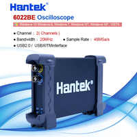 Hantek 6022BE PC USB virtual oscilloscope Digital Storage 2Channels 20MHz 48MSa/s Oscilloscope