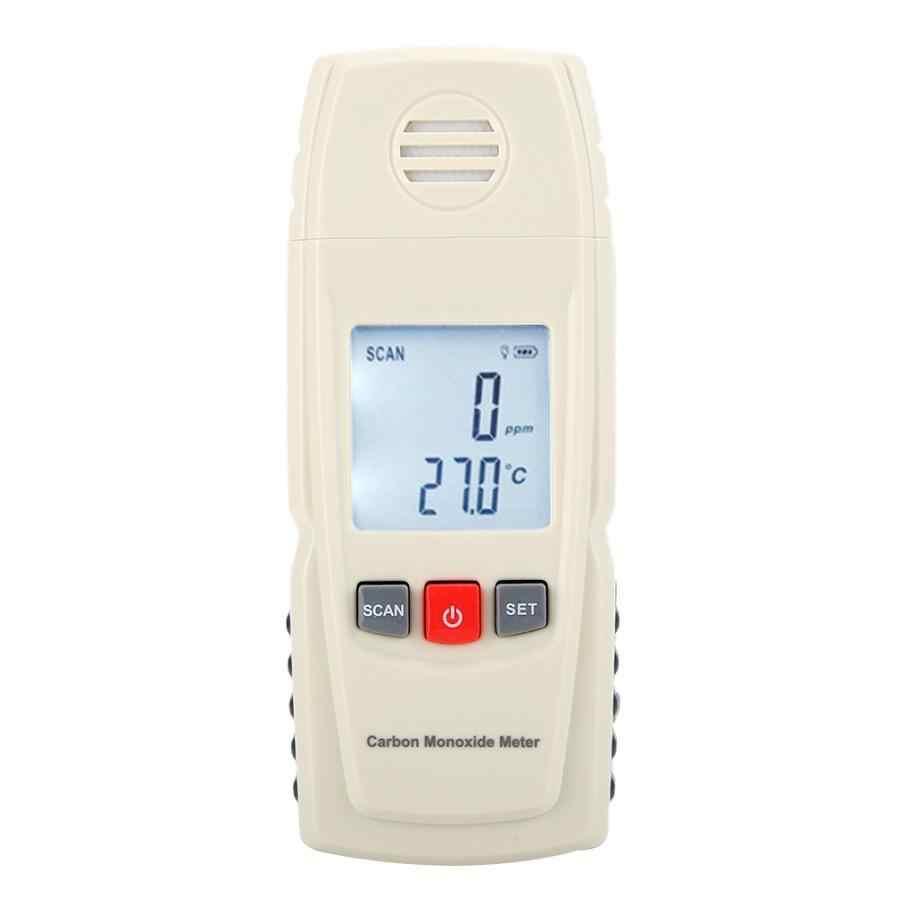 Портативный Ручной Измеритель угарного газа CO, детектор утечки газа, сигнализация, датчик угарного газа