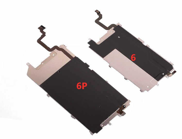 Pour iPhone 6 plus 6s plus 7 plus 8 plus cadre de plaque arrière support de châssis moyen LCD plaque de protection en métal d'affichage