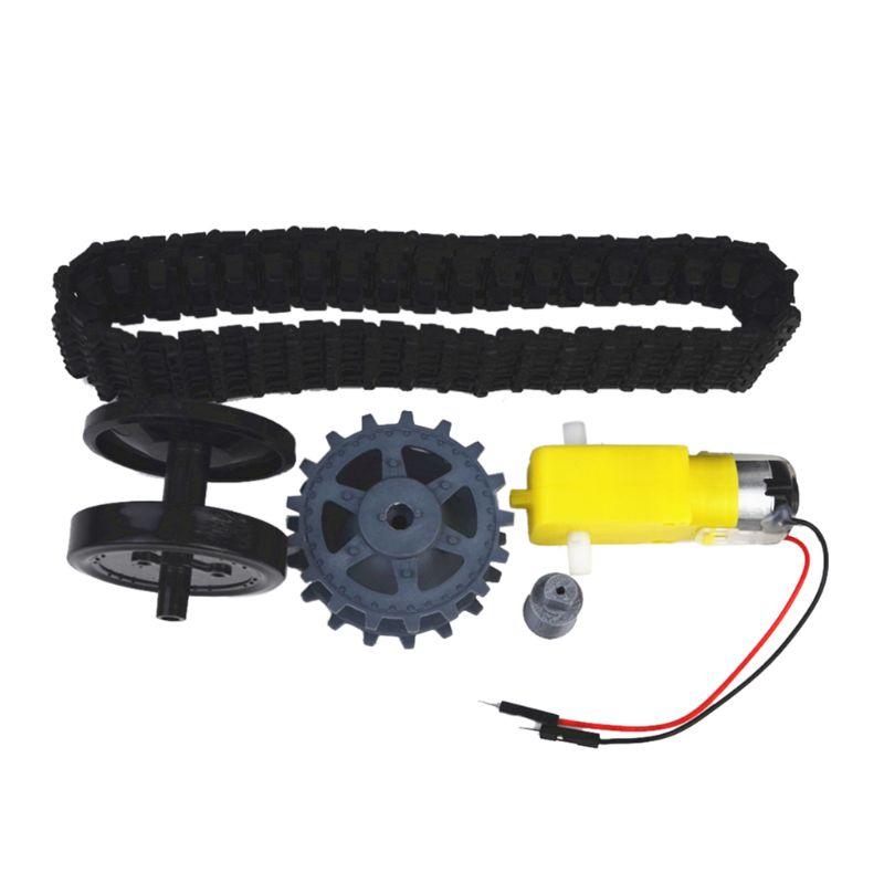 Smart Tank Track Conveyor Belt TT Motor Drive Wheels Kits DIY Accessories