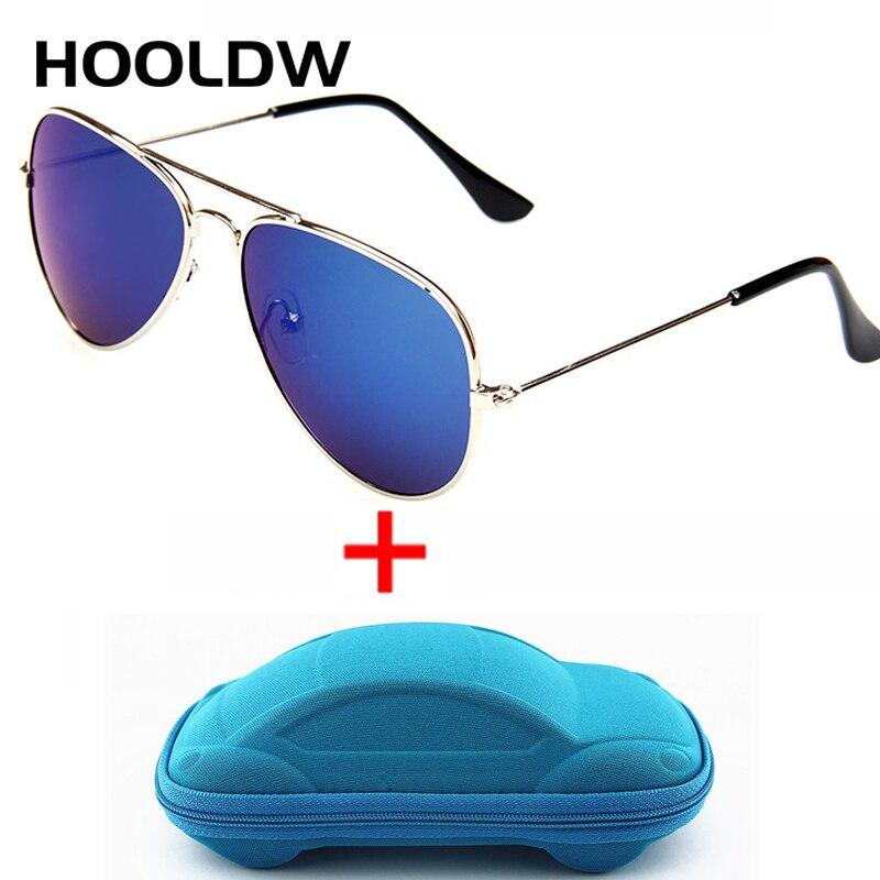HOOLDW модные детские солнцезащитные очки, крутые детские солнцезащитные очки для мальчиков и девочек, защита от ультрафиолета, защита UV400, дет...