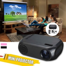 80 Inch Home Projector Large Screen 1920 * 1080P 400LM USB Power Supply 30000 Ho