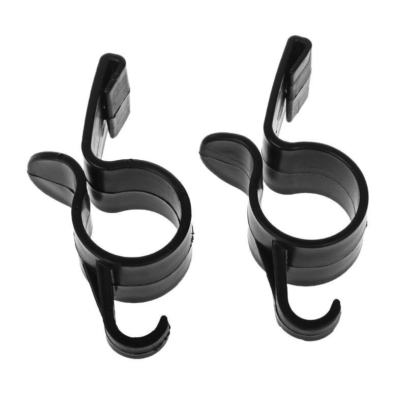2 pièces voiture arrière coffre support de montage porte-parapluie Automobile coffre organisateur pour parapluie suspendus crochets pour voyager Y51C
