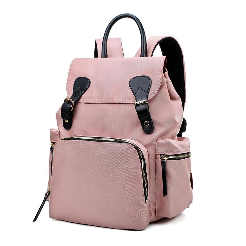 Fashion Mummy Maternity Nappy Bag Large Capacity Nappy Bag Travel Backpack Nursing Bag For Baby Care Women's Backbag Wetbag