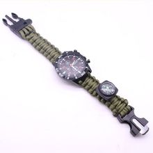 Multi function mountaineering watch women survive in the field