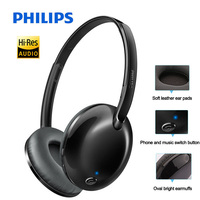 Original Philips Bluetooth 4.1 Wireless Headphones SHB4405 with Mic/Multipoint/NFC Stereo Music aptX Headset for Note8 S9/S9+