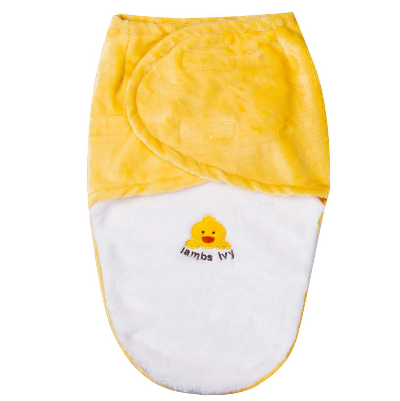 Sacos de Dormir Do Bebê recém-nascido Outono Inverno Quente Algodão Cobertor Swaddles Infantil Dos Desenhos Animados Sacos de Dormir