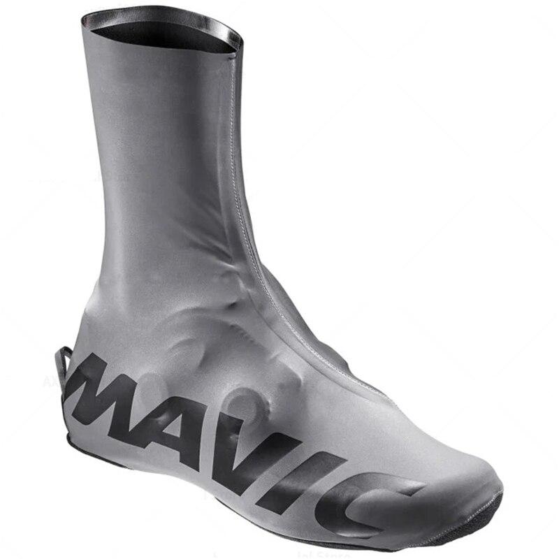 Mavic lato Lycra Zip but kolarski pokrywa sportowe męskie jest MTB buty rowerowe ochraniacze buty kalosze rowerowe Cubre Ciclismo pokrowiec na buty Ciclismo
