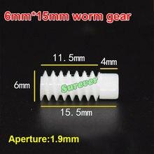 Coupling Worm-Gear for 2mm Shaft-Diameter 5pcs/Lot Aperture Lengthened 6--10mm/6--15mm