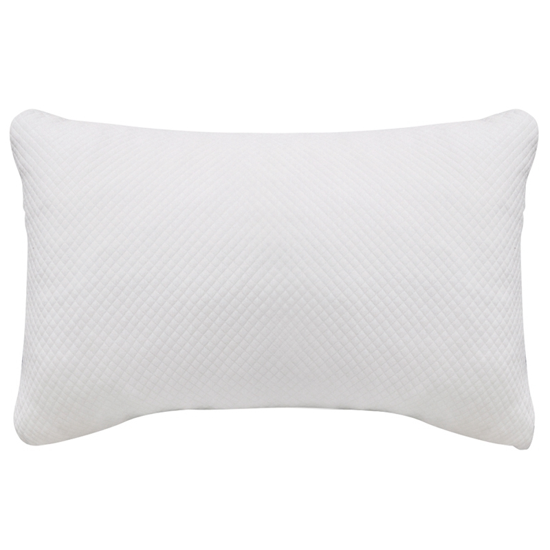 Memory Pillow Advanced Adjustable Fluffy Fragment Washable Travel Carry Bamboo Fiber Slow Rebound Custom Height Memory Cotton