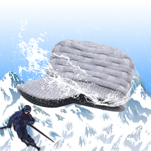 Waterproof breathable Knit and wet-permeable snowcap hats men women for Hiking Hunting Skiing Fishing Outdoor Sports DEXSHELL