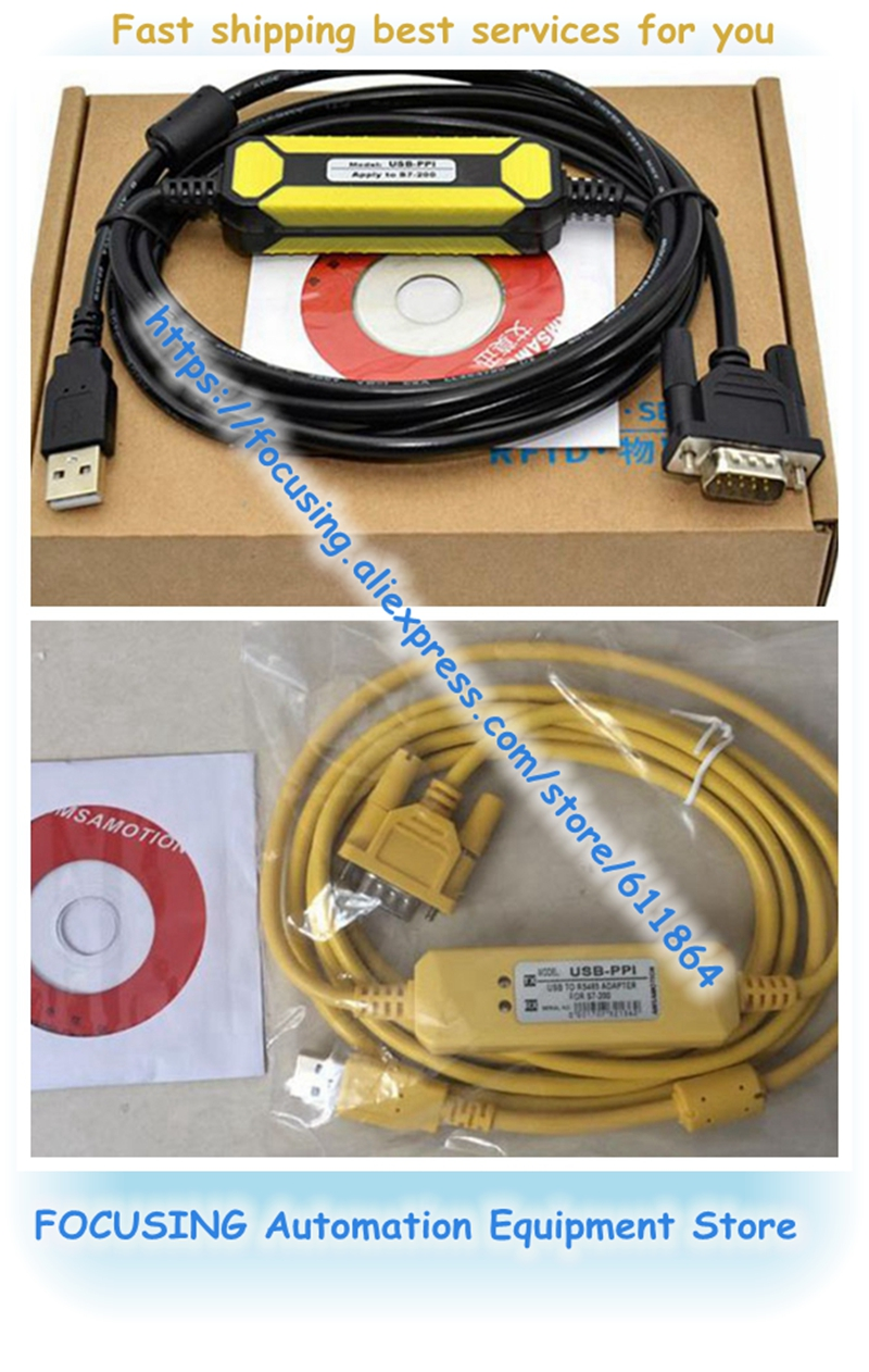6ES7901-3DB30-0XA0 Programming Cable USB to RS485 Adapter for Siemens S7-200 PLC