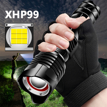 XHP99 9-core High Quality Powerful Tactical Led Flashlight XHP70.2 Zoomable Torch Rechargeable 18650 26650 Battey XHP50 Lantern